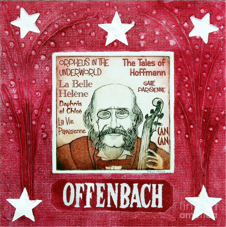 Offenbach Drawing - Offenbach by Paul Helm