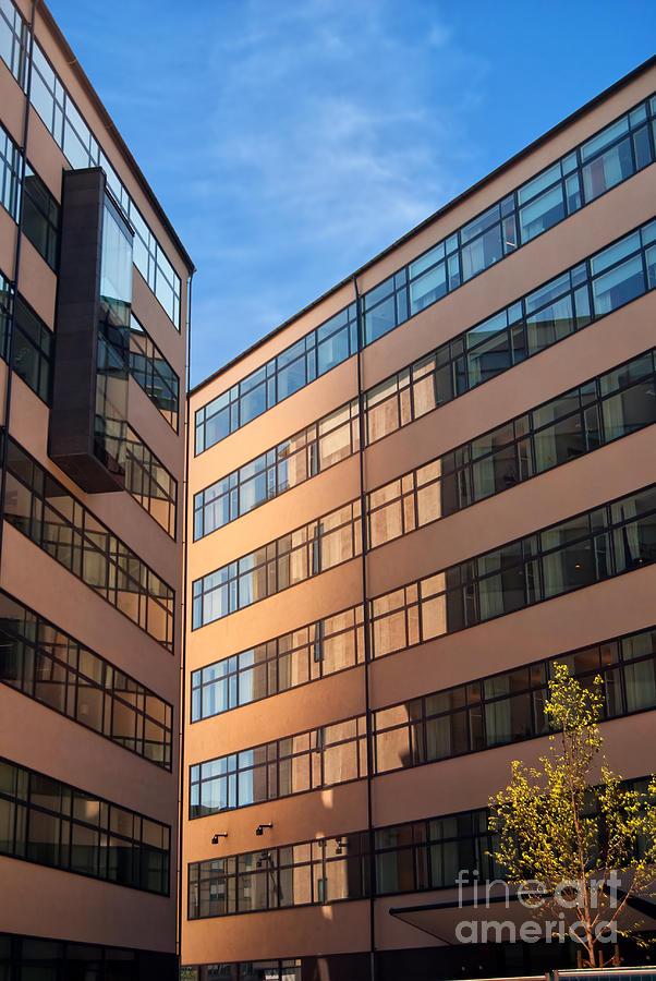 Exterior Photograph - Office Building Malmo by Antony McAulay