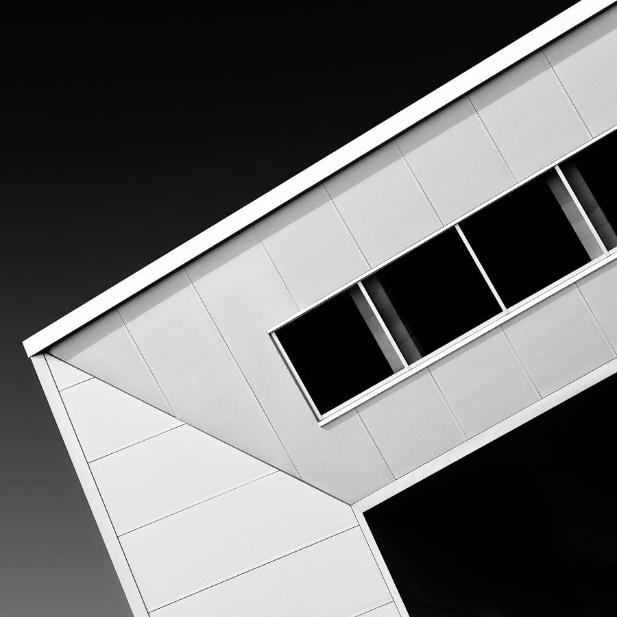 Modern Architecture Photograph - Office Corner by Dave Bowman