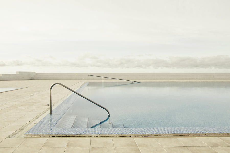 Calm Photograph - Offseason by Robert Steinkopff