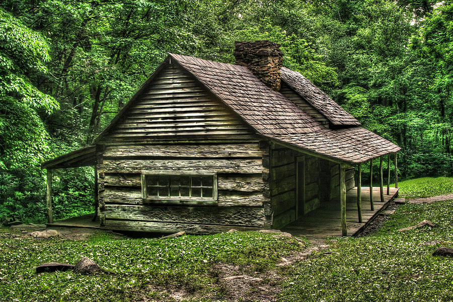 Cabin Photograph - Ogle Cabin by Cindy Haggerty