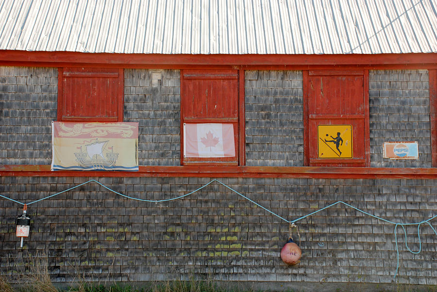 Old Buildings Photograph - Oh Canada by Carla P White