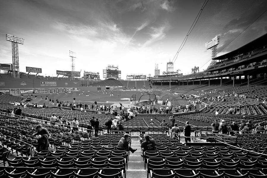 Fenway Park Photograph - Oh Happy Days by Paul Treseler