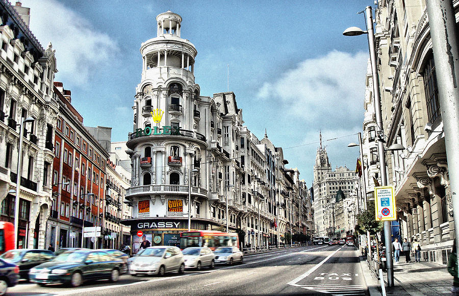 Amazing Photograph - Oh Madrid by Pedro Fernandez