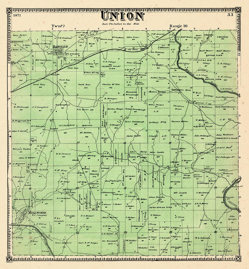 Ohio, 1871, Union Township, Union, Knox County by Historic Map Works on vanderburgh county ohio map, hopewell twp beaver county pa map, crawford county, morrow county ohio map, franklin county, fulton county, fairfield county, tioga county ohio map, jackson county, monroe county, lancaster county ohio map, mason county ohio map, lincoln county ohio map, ohio state geography map, mount vernon, marion county, ohio economy map, richland county, delaware county, chester county ohio map, greene county, holmes county, wyandot county ohio map, coshocton county ohio map, ohio ohio map, avon ohio city limits map, hamilton county, jefferson county, fayette county, lorain county, lake county, clearcreek township ohio map, mad river township ohio map, madison county, knox st fort bragg installation map, hardin county, ohio amish communities map, richland county ohio map, clermont county ohio map,
