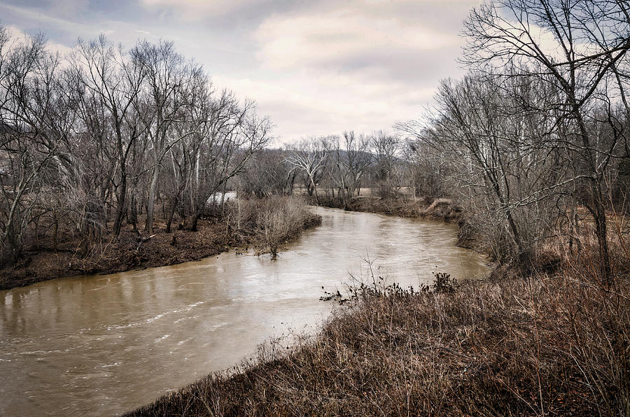 Adams Photograph - Ohio Brush Creek by Diana Boyd