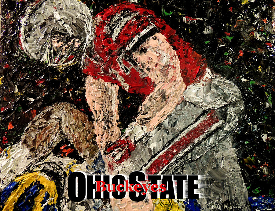 Ohio State Buckeyes Photograph By Mark Moore