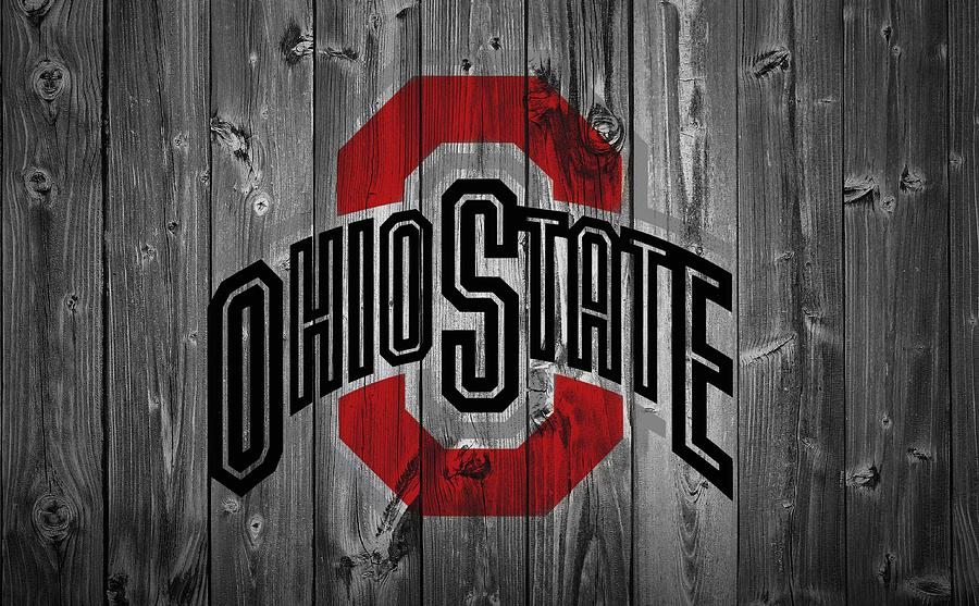 Ohio State Logo Wallpaper: Ohio State University Digital Art By Dan Sproul