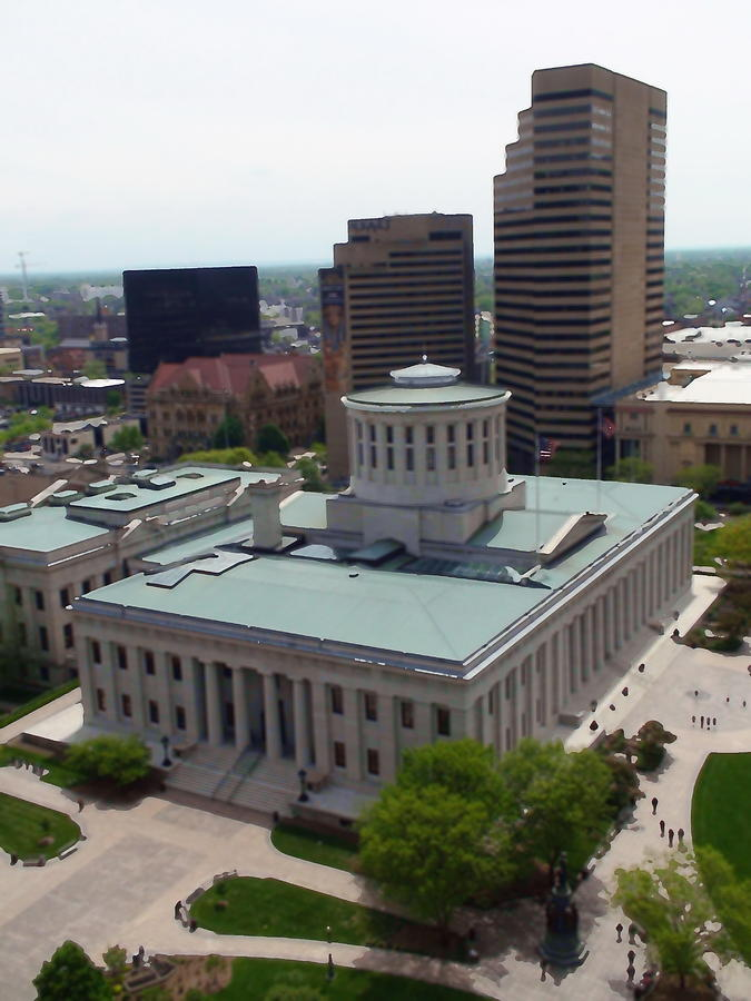 Ohio Statehouse Photograph by Sanford