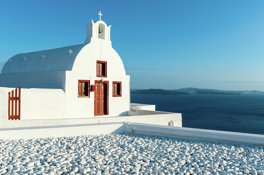 Oia Church, Santorini, Greece Photograph by Chrishepburn