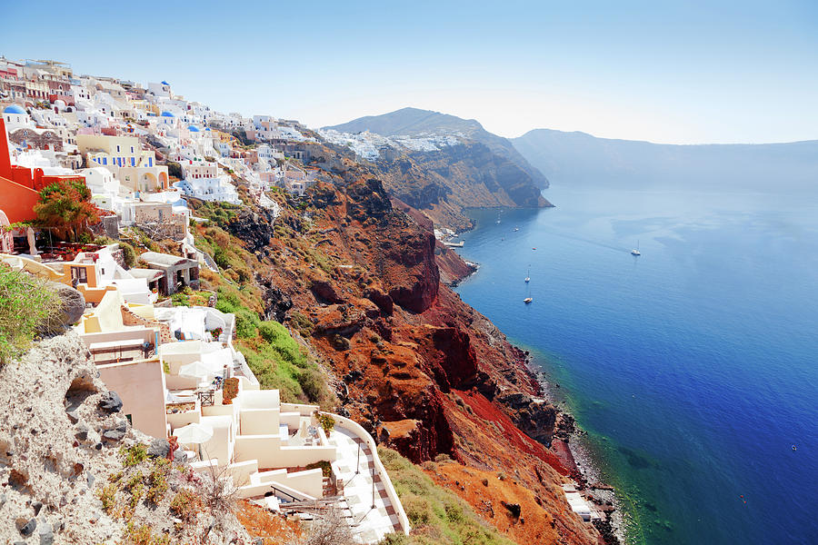 Oia Cityscape, Santorini Photograph by Ivanmateev