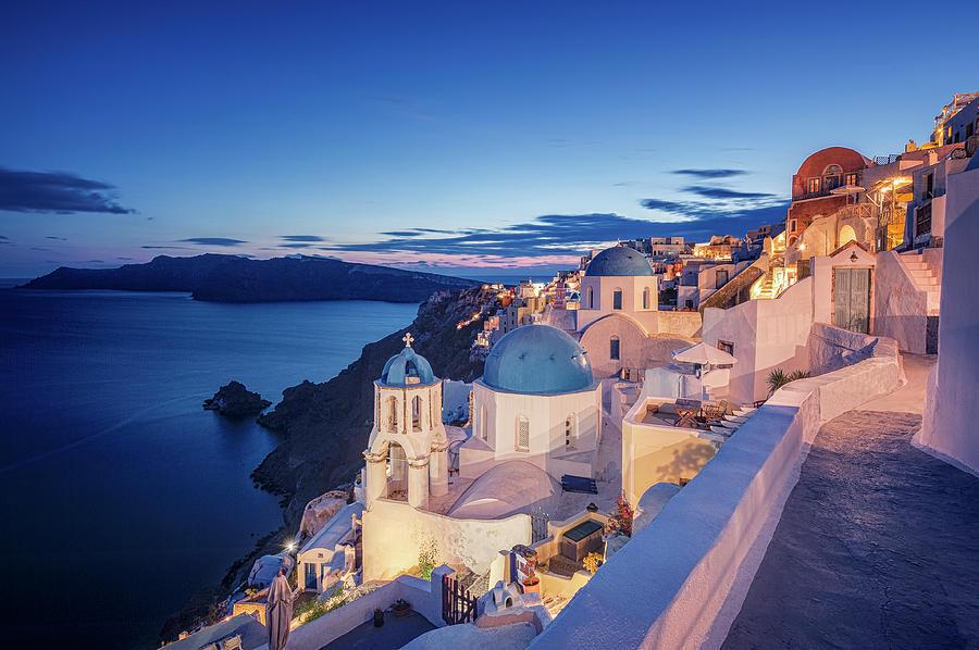Oia Santorini Photograph by © Allard Schager