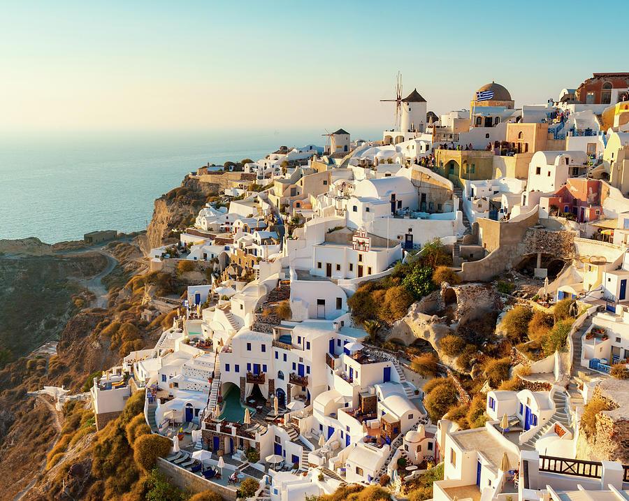 Oia, Santorini, Greece Photograph by Chrishepburn