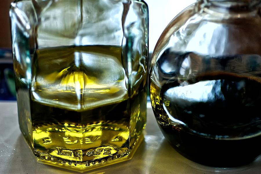 Oil Photograph - Oil And Vinegar 2 by Guillermo Hakim