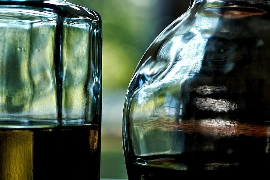 Oil Photograph - Oil And Vinegar 3 by Guillermo Hakim