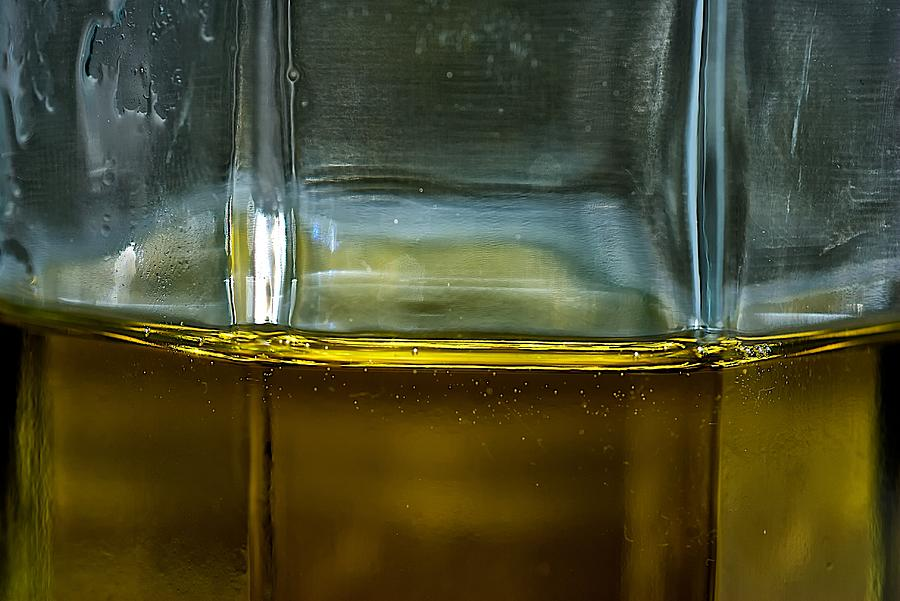 Oil Photograph - Oil And Vinegar Detail by Guillermo Hakim