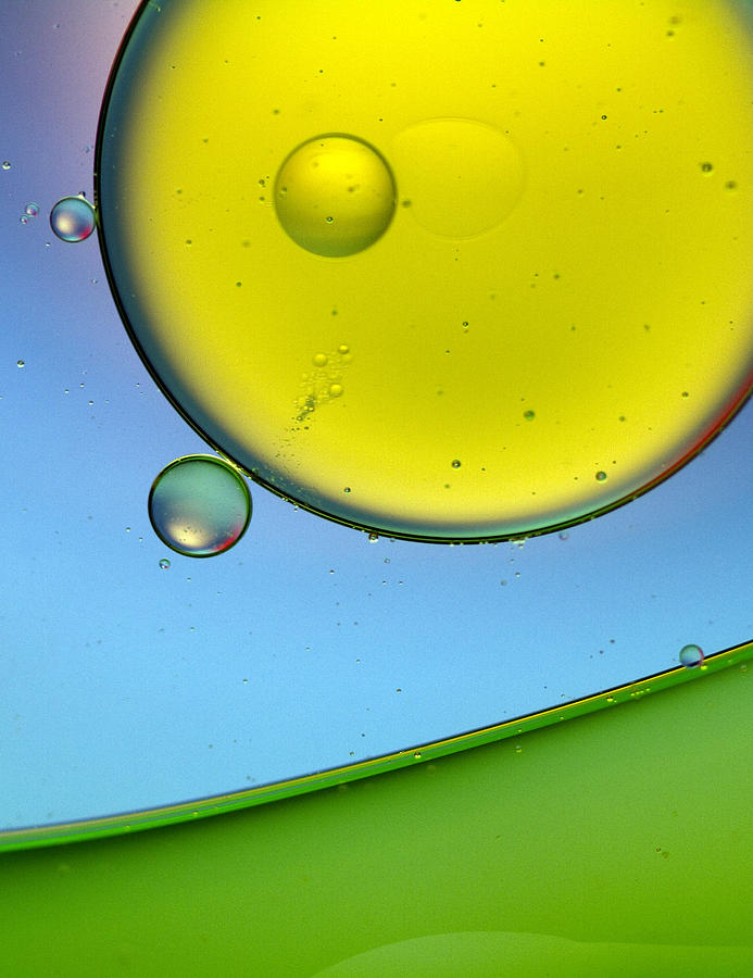 Oil Photograph - Oil And Water 26 by Rebecca Cozart
