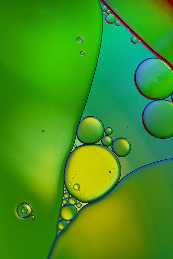 Oil Photograph - Oil And Water 9 by Rebecca Cozart