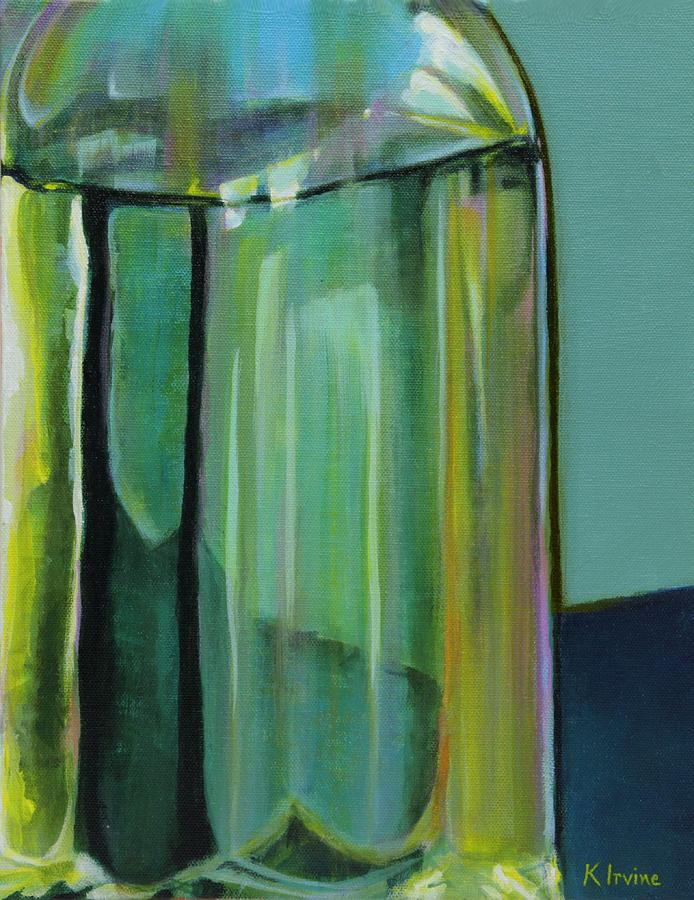 Oil Dispenser Abstract by Kathleen Irvine
