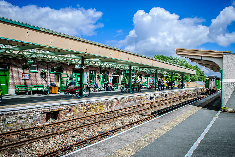 Okehampton Station Devon by Richard Jemmett