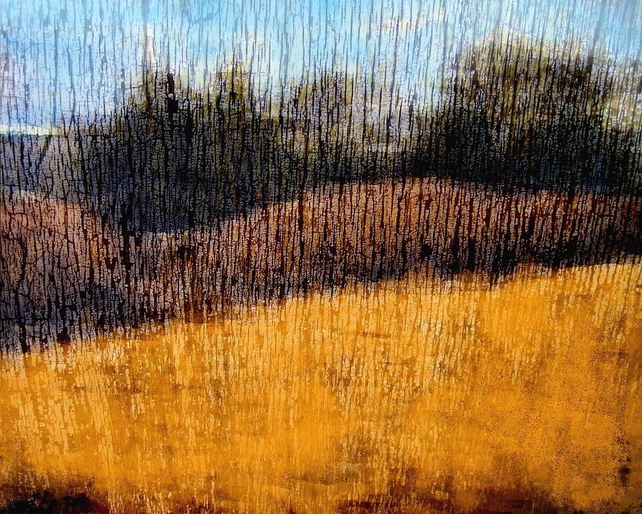 Landscape Photograph - Oklahoma Prairie Landscape by Ann Powell