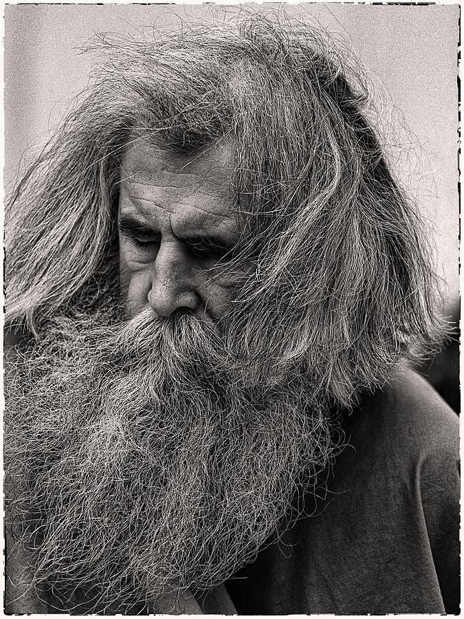 Man Photograph - Ol Mose by Hal Norman K