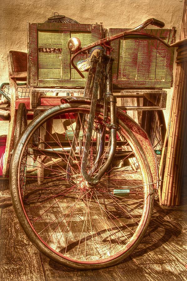 Campagnolo Photograph - Ol Rusty Antique by Debra and Dave Vanderlaan