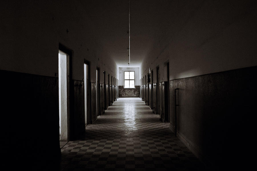 Old Abandoned Prision Corridor Photograph by Zodebala