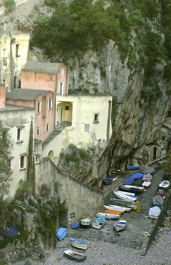 Amalfi Photograph - Old Amalfi Coast Italy by Claudia Croneberger