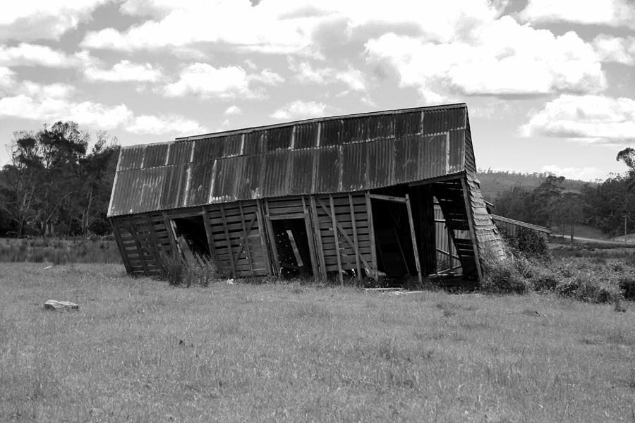 Barn Photograph - Old And Tired by Philip Hartnett