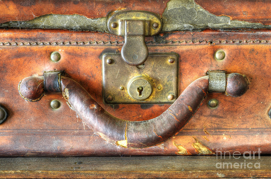 Luggage Photograph - Old Baggage by Bob Christopher