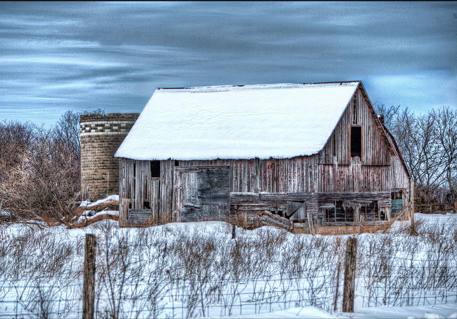 Old Barn Photograph - Old Barn by David  Parry