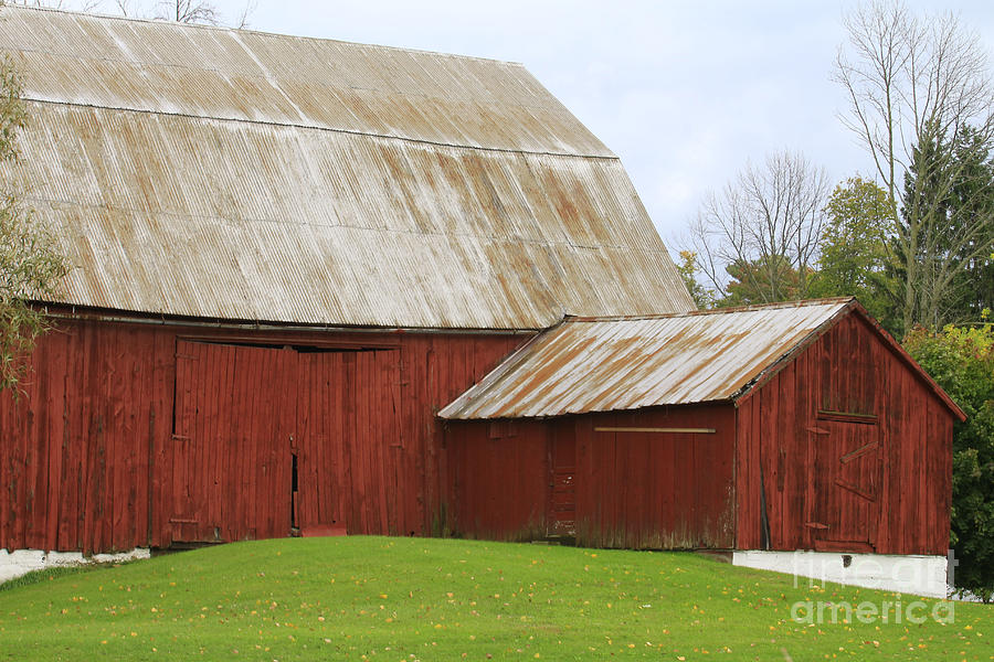 Old Barn Photograph by Kathy DesJardins