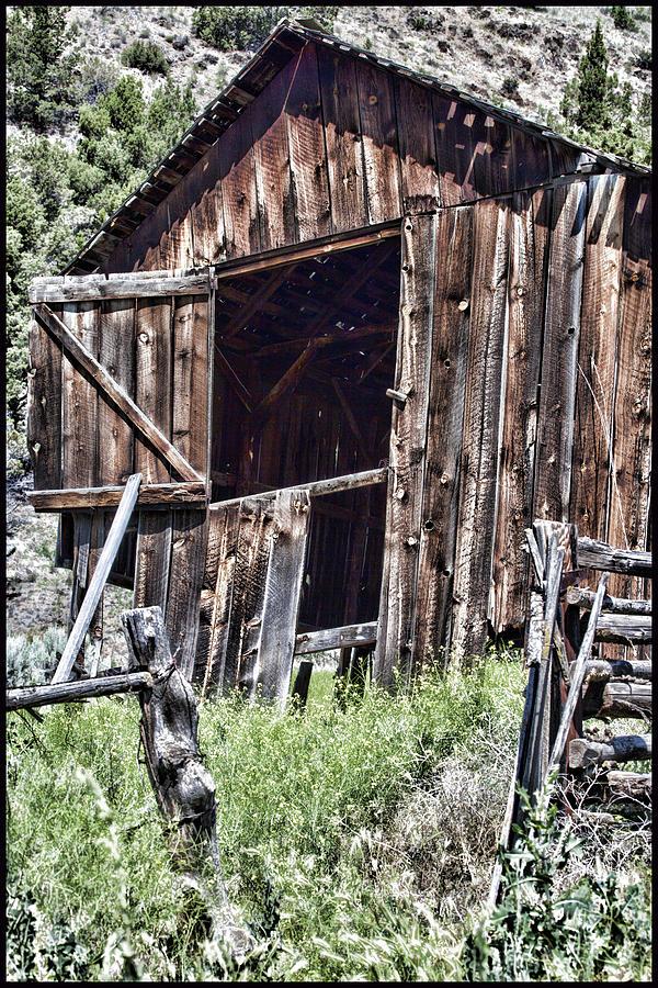 Old Barn Study by Karen Ulvestad