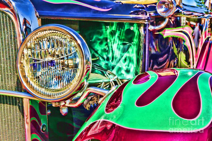 Old Betty Ford Vintage Car By Diana Sainz by Diana Raquel Sainz
