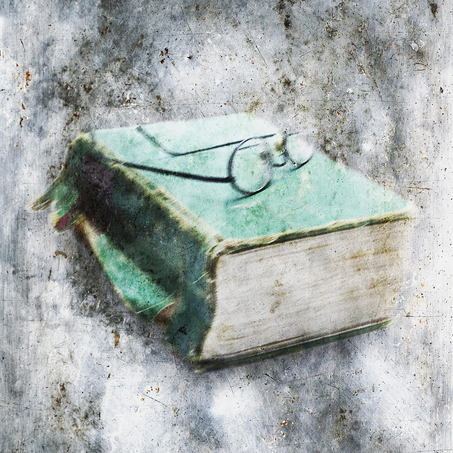 Abandoned Photograph - Old Book by Skip Nall