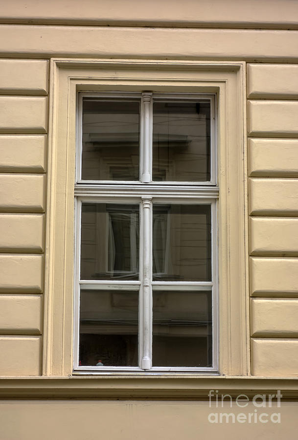 Old Building Window Photograph