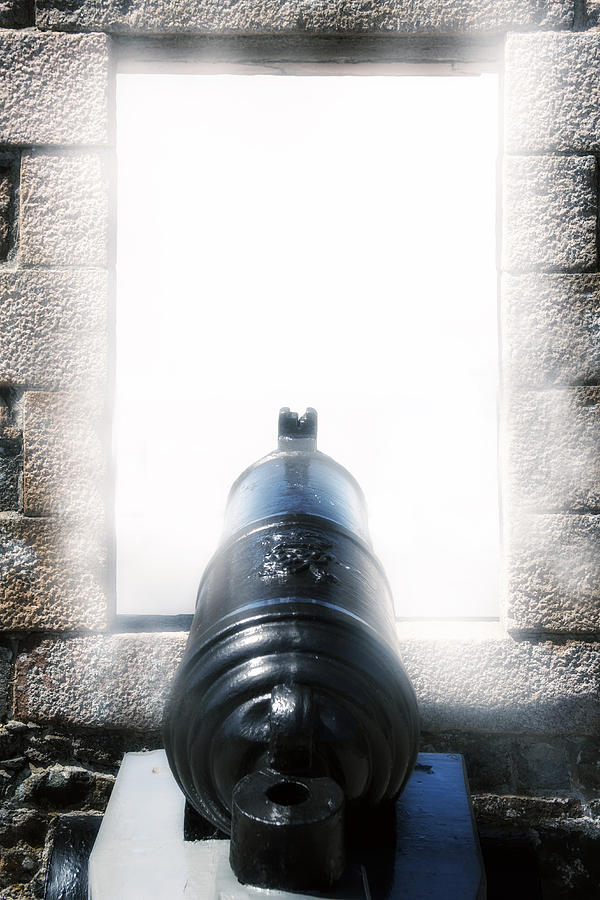 Iron Photograph - Old Cannon by Joana Kruse