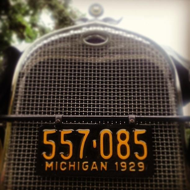 Old Car Show - Dearborn. Michigan Photograph by Design Turnpike