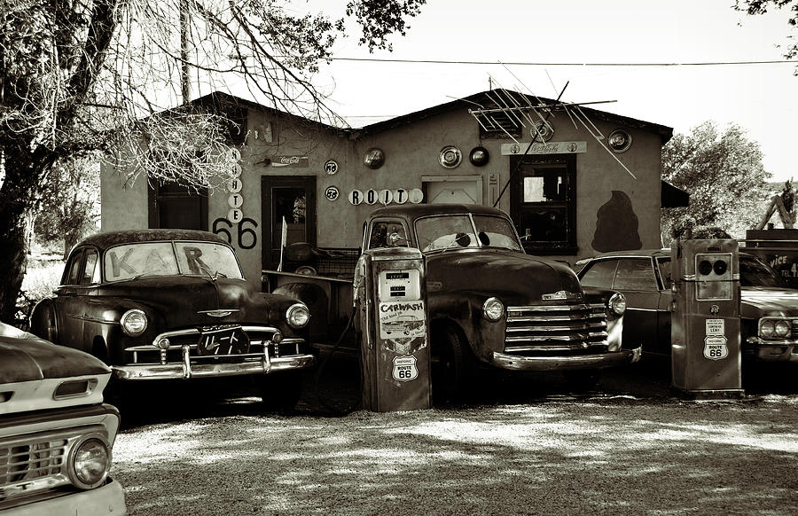 Arizona Car Sales >> Old Cars On Route 66 Photograph by RicardMN Photography