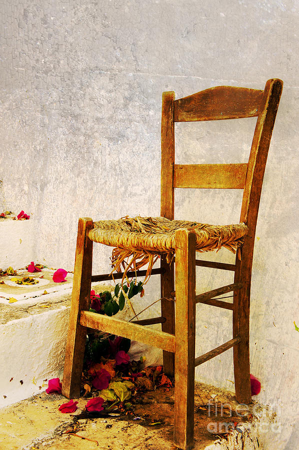 Chair Digital Art - Old Chair by Christos Dimou