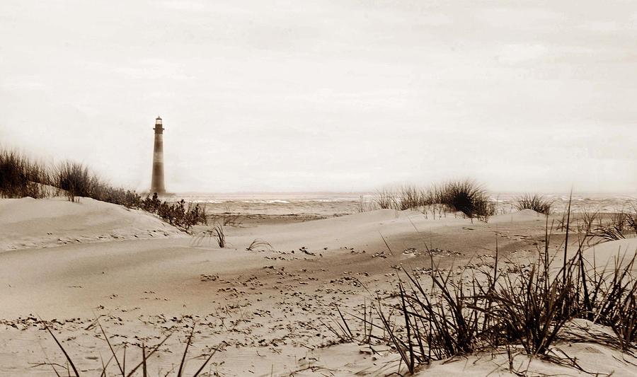 Sc Photograph - Old Charleston Harbor by Skip Willits