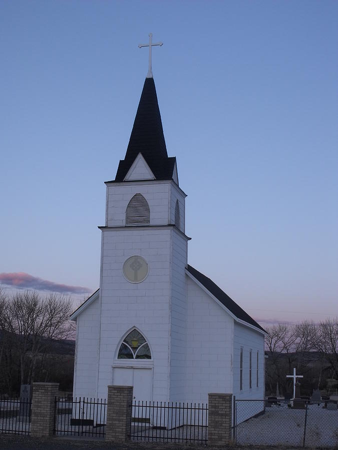 Church Photograph - Old Church by Yvette Pichette