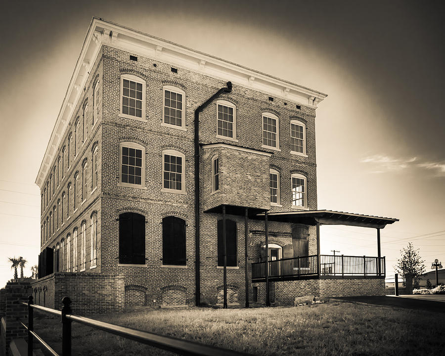 Tampa Photograph - Old Cigar Factory by Ybor Photography