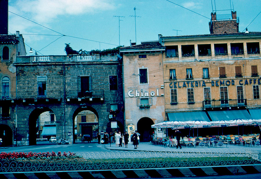 Vicenza Photograph - Old City Gate Vicenza 2 1962 by Cumberland Warden