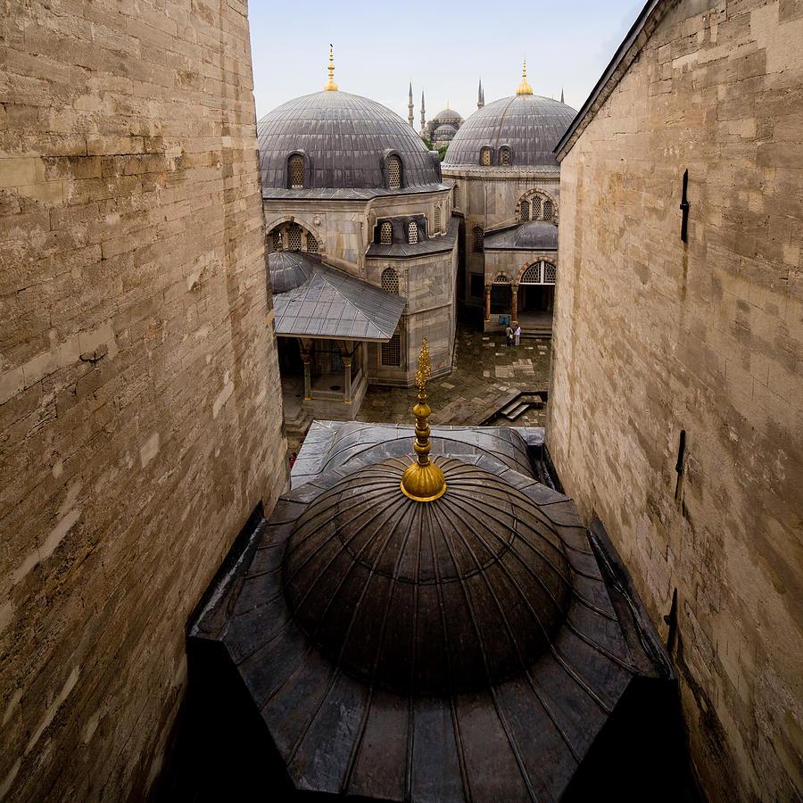Hagia Photograph - Old City Of Istanbul by Artur Bogacki