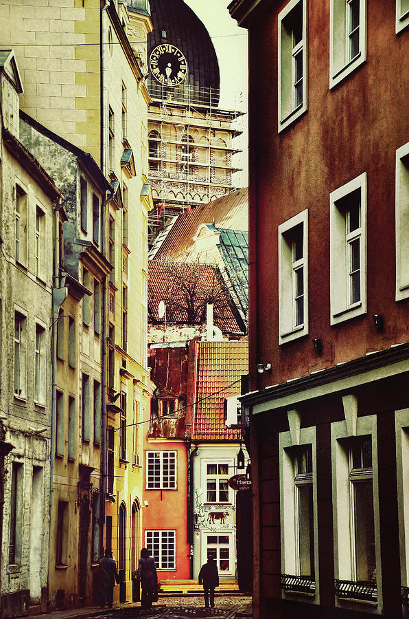 City Photograph - Old City Street by Gynt