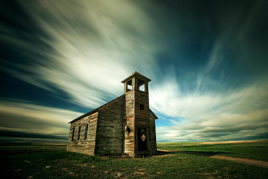 Old Cottonwood Church by Todd Klassy