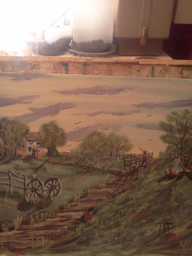 Old Country Painting by Renee McKnight