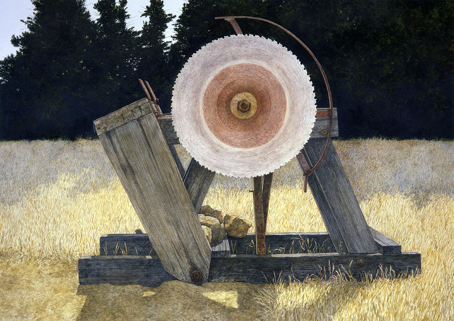Landscape Painting - Old Cutter by Tom Wooldridge